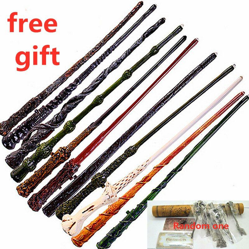 [New] Harry Potter Magic Wand Deathly Hallows Hogwarts Gift magic wand Voldemort 1pcs for 21 style Choice Colsplay Prop gifts
