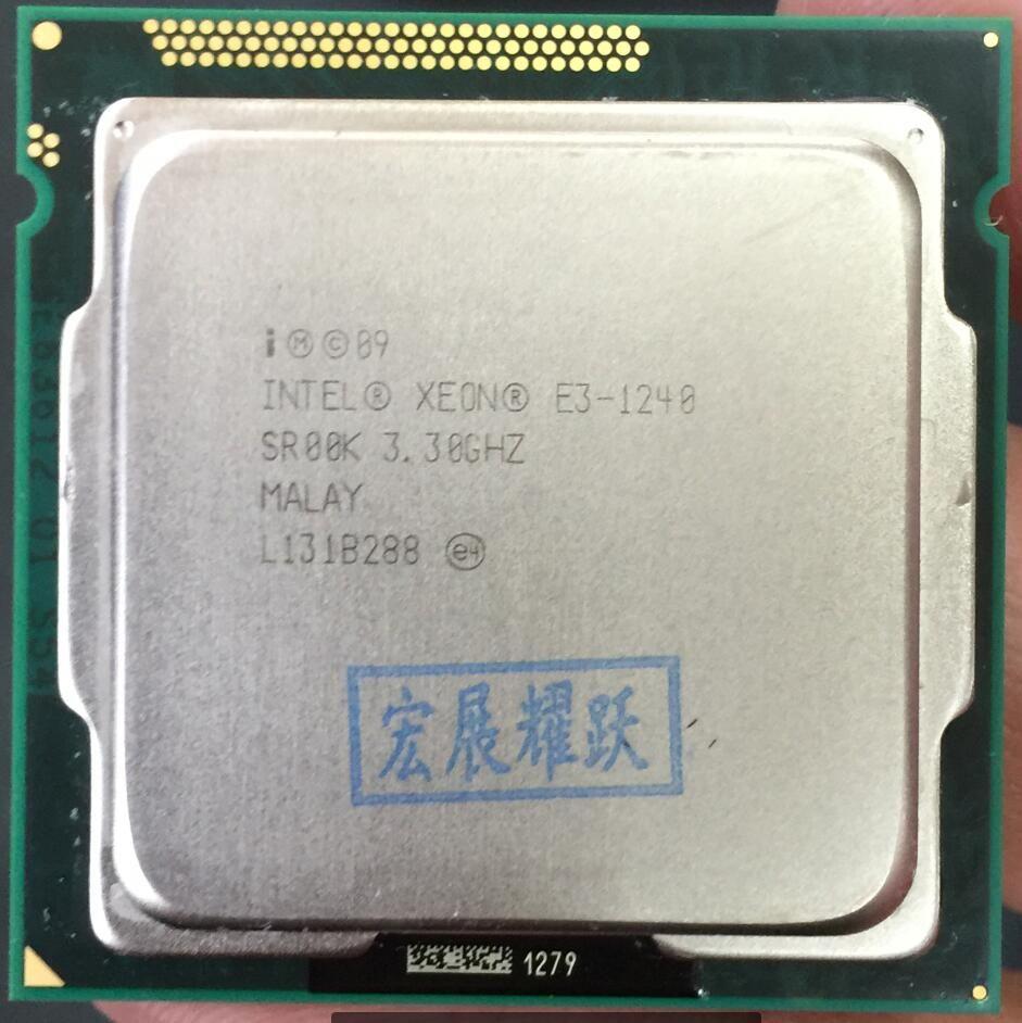 Intel Xeon Prozessor E3-1240 E3 1240 Quad-Core Prozessor LGA1155 PC computer Desktop CPU