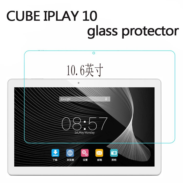 Tempered Glass Original For cube iplay10 Glass Screen Protector Film Slim Transparent Cover For iplay10