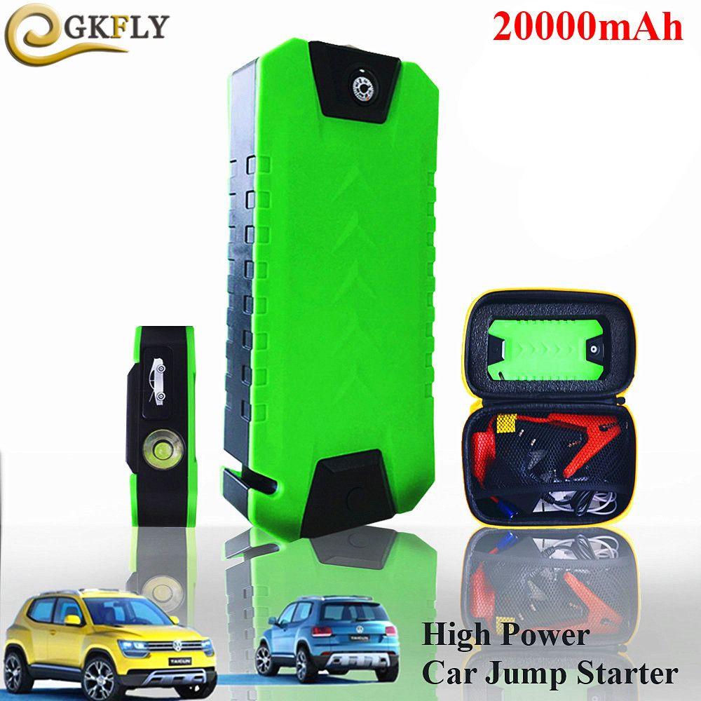 High Power 20000 mAh Auto Starter 600A Tragbare Startvorrichtung Notfall Auto-ladegerät Für Autobatterie Booster Auto Jumper Buster