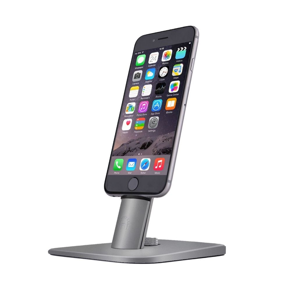 Spinido TI-SET usb phone car charger,iPhone charging dock station for iPhone/iPad,requires Apple Original cable (not included)
