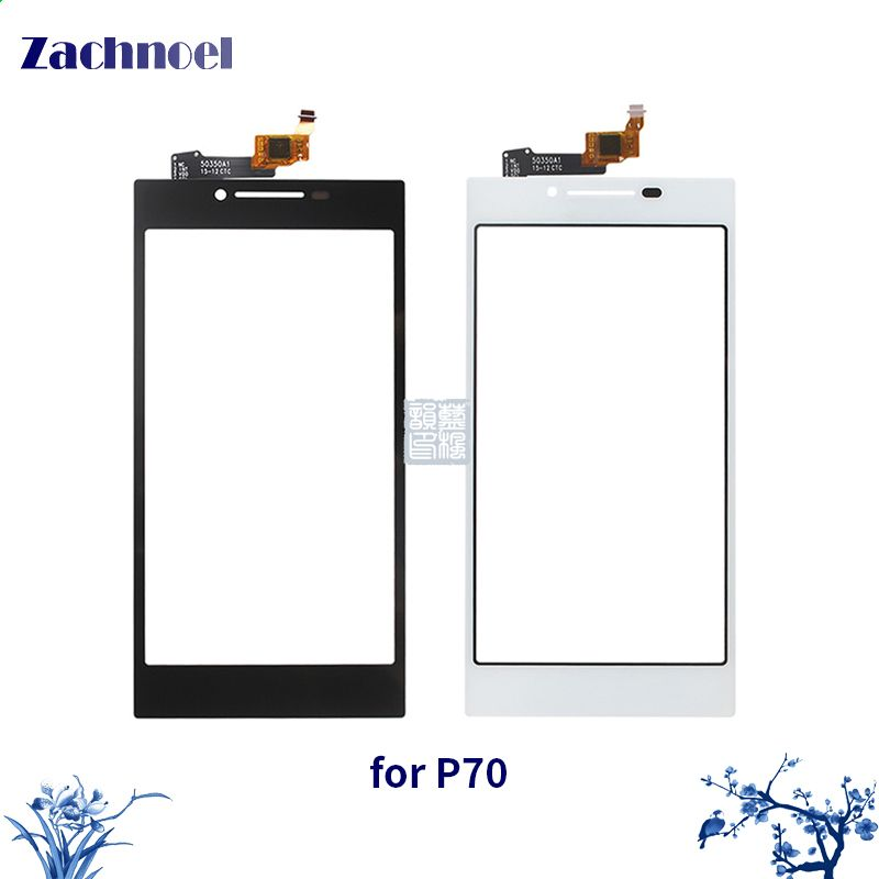 5.0 Inch Touchscreen for Lenovo P70 Touch Screen Digitizer Sensor Lens Front Glass Touch Panel Replacement Parts for P70