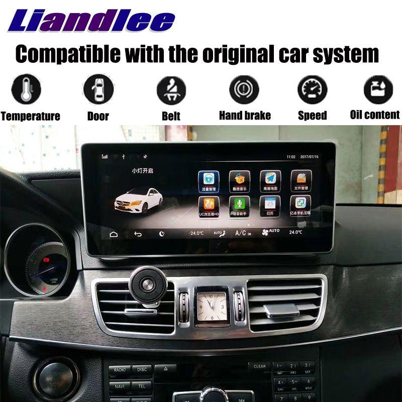 LiisLee Car Multimedia Player NAVI For Mercedes Benz MB E C207 A207 2009~2017 Coupe Original Car Style Radio GPS MAP Navigation