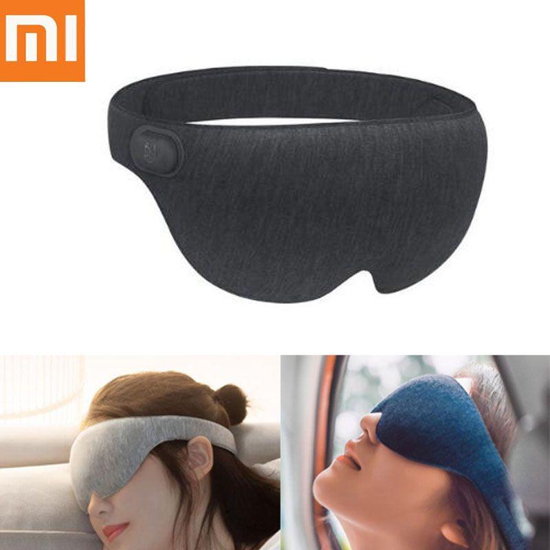 Xiaomi Mijia Ardor 3D stéréoscopique chaud compresse masque pour les yeux Surround chauffant soulager la Fatigue USB type-c alimenté pour travail étude repos