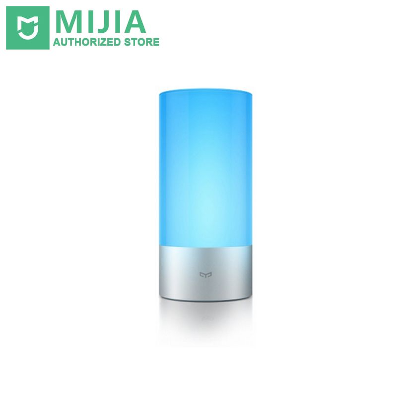 Original Xiaomi Yeelight Smart Lights Indoor Bed Bedside Lamp 16 Million RGB Lights Touch Control Bluetooth For Mijia APP