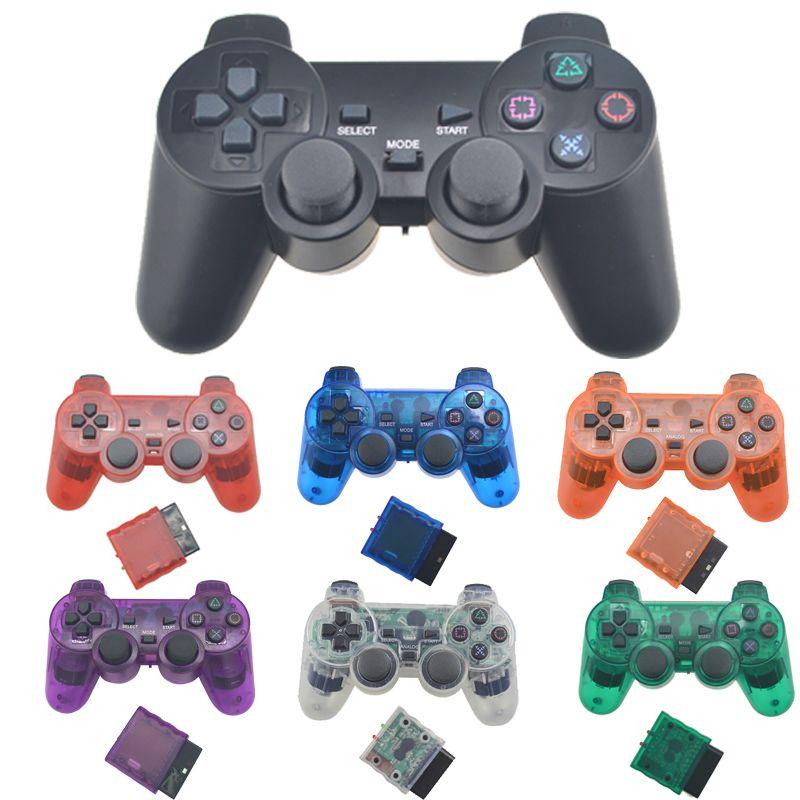 Pour PS2 Manette de jeu sans fil Manette Pour Playstation 2 Controle Mando Manette de jeu sans fil Pour PS2 Console Accessoire