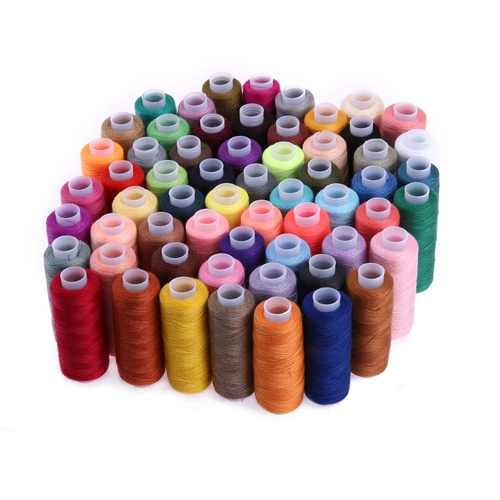 60 Color 250 Yard Sewing Thread Sewing Tools Quilting Supplies Polyester Embroidery Thread for Sewing Machine Hand Stitching