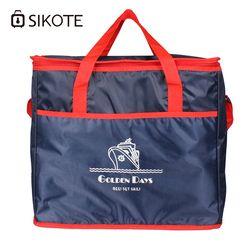 SIKOTE 38L Extra Large Thickening Cooler Bag Ice Pack Insulated Lunch Bag Cold Storage Bags Fresh Food Picnic Container