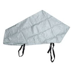 Gris impermeable caravana tailer remolque de enganche acoplamiento bloqueo revestimiento reflectante material lluvia polvo proteger