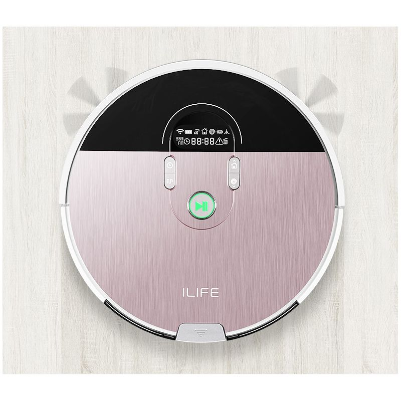 ILIFE X785 new planned robot vacuum cleaner with App control ,Smart Memory,Map Navigation,Wet Dry mop,Robot Aspiador