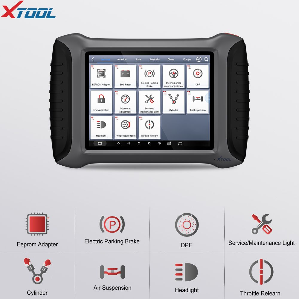 XTOOL A80 OBDII Full System-Diagnose-Tool Mit Multi Spezielle Funktion WiFi/Bluetooth Freies Update Online OBD2 Auto Scanner