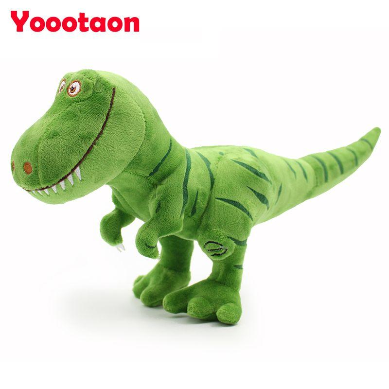 Nouveau arrivent Dinosaure en peluche jouets passe-temps, kawaii Tyrannosaurus rex En Peluche poupées et jouets en peluche pour enfants garçons, bébé classique jouets