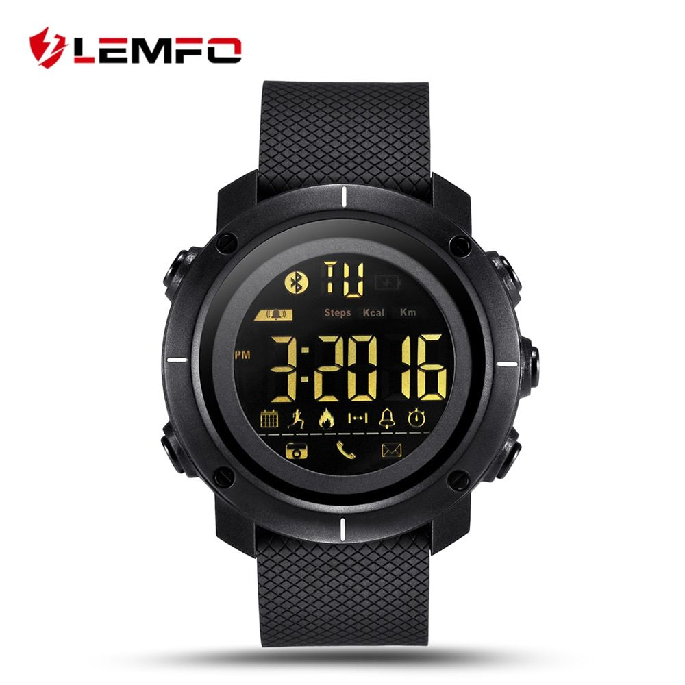 LEMFO LF19 Smart Watch Waterproof Men Women Wearable Devices Smartwatch Sports <font><b>Pedometer</b></font> Alarm Reminder for IOS Android Phone