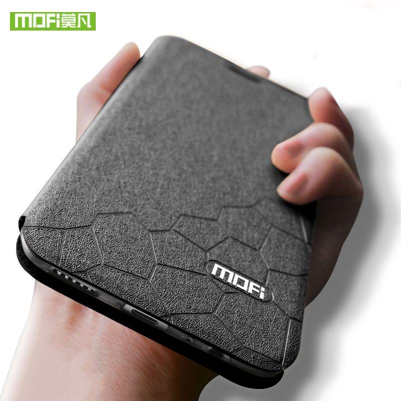 Oneplus 5 5T case cover silicone luxury flip leather oneplus 3 3T coque original mofi One plus 3 5T case shockproof armor fundas