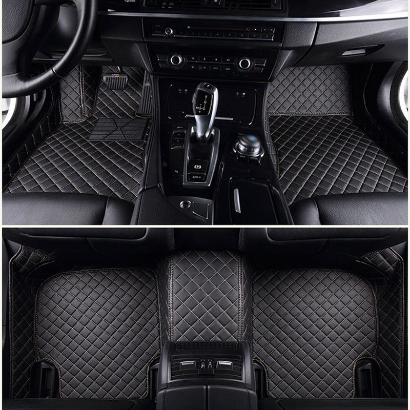 Customized car floor mats for Kia Rio Sorento Sportage Optima K5 Forte K3 perfect fit carpet foot case car-styling rugs liners