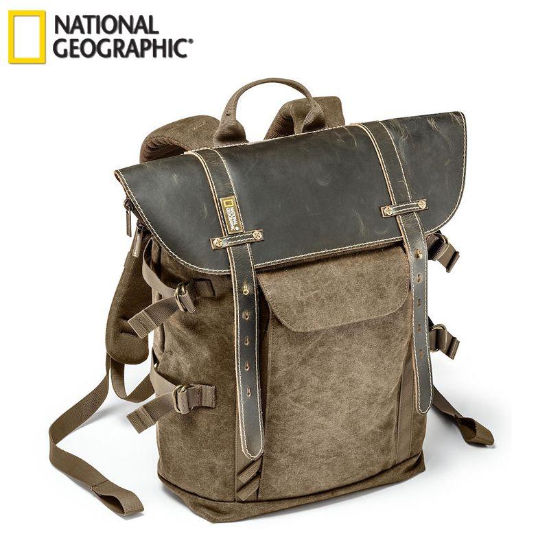 National Geographic NG A5280 sac à dos Photo pour DSLR Action caméra trépied sac Kit lentille poche ordinateur portable sacs de photographie en plein air