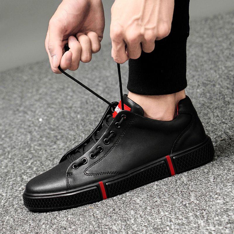 Männer Echtes Leder Schuhe Männer Wohnungen Mode männer Casual Schuhe outdoor sommer loch Marke Mann Weiche Komfortable Lace up schuhe L5