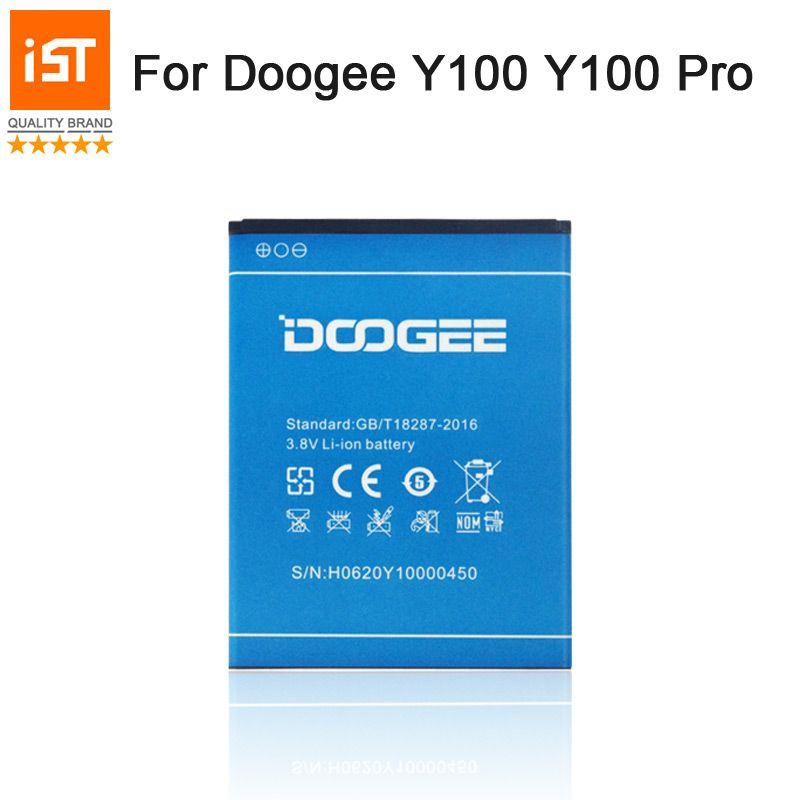 2019 nouveau 100% IST batterie de téléphone Mobile d'origine pour Doogee Y100 Y100 PRO Valencia2 batterie de remplacement de haute qualité avec cadeau