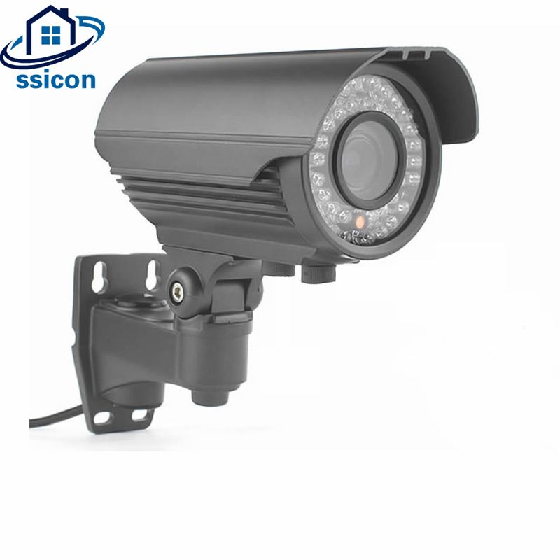 SSICON 2MP 4MP Metal Bullet IP Camera 2.8-12mm Varifocal Lens 4x Zoom IR Distance 40M Waterproof POE CCTV Camera Outdoor Onvif