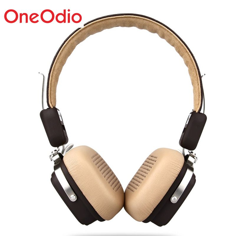 Oneodio Wireless Headphones Foldable Bluetooth 4.1 Headphones 500mAH Wireless/Wired Sport Stereo Headset With Mic For Smartphone
