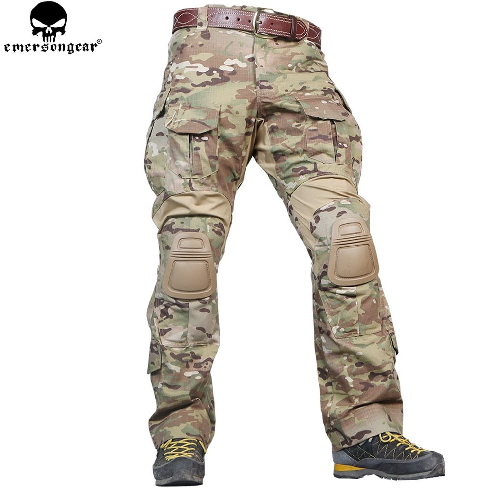 EMERSONGEAR G3 Combat Pants Military Army Hunting Pants Tactical Airsoft Emerson Multicam Pants with Knee Pads Multicam Pants