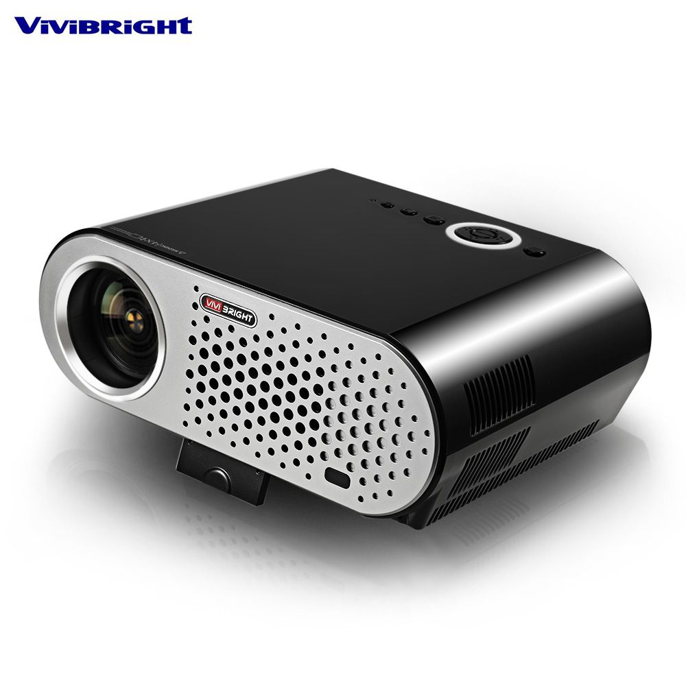 ViviBright GP90 Projector 1280x800 Smart Cinema USB Full HD Video WXGA LED HDMI VGA 1080P Home Theater Projector