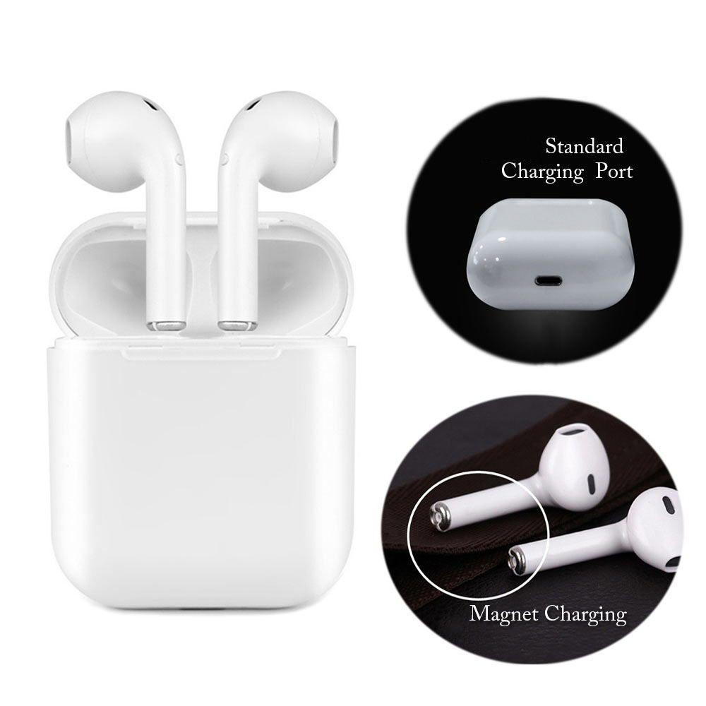 Magnétique Chargeur Boîte Écouteurs IFANS I9 TWS Bluetooth Écouteur Sans Fil Casque Mise À Niveau Casque Stéréo Casque Pour Android
