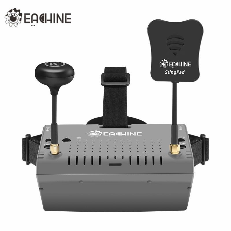 2018 New Eachine EV900 5.8G 40CH HDMI AR VR FPV Goggles 5 Inch 1920*1080 HD Display Built-in Battery For RC Racing Dron