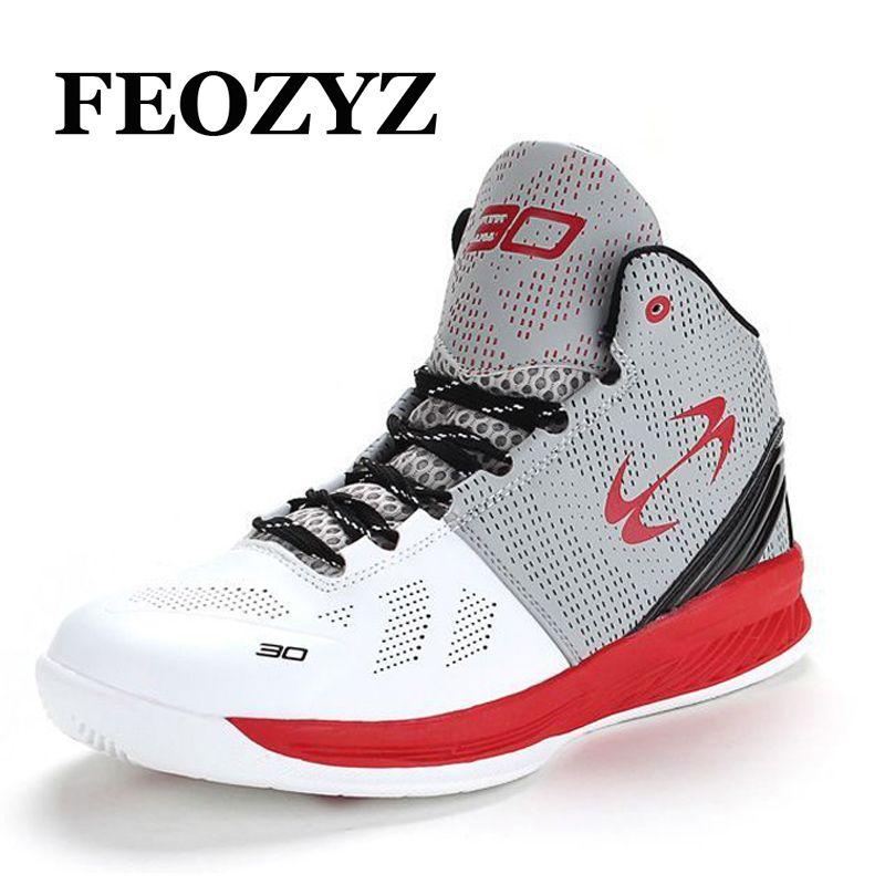 Feozyz Бренд 2016 г. Новый Баскетбольные кеды Для мужчин Для женщин дышащая уличная Для мужчин S Баскетбол Спортивная обувь высокие корзина Homme Ра...