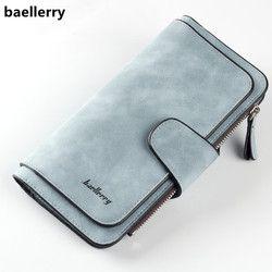 Baellerry бренд кошелек Для женщин скраб кожаные кошельки леди высокое качество дамы сцепления кошелек длинный женский кошелек carteira feminina