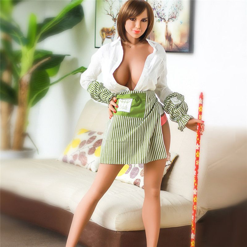 Ailijia 170cm-125# Sex doll Life size full TOP TPE with skeleton love doll big breast body for man's sex toy
