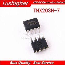 10 Pcs THX203H DIP8 THX203H-7V THX203 DIP Switching Power Supply IC Gratis Pengiriman