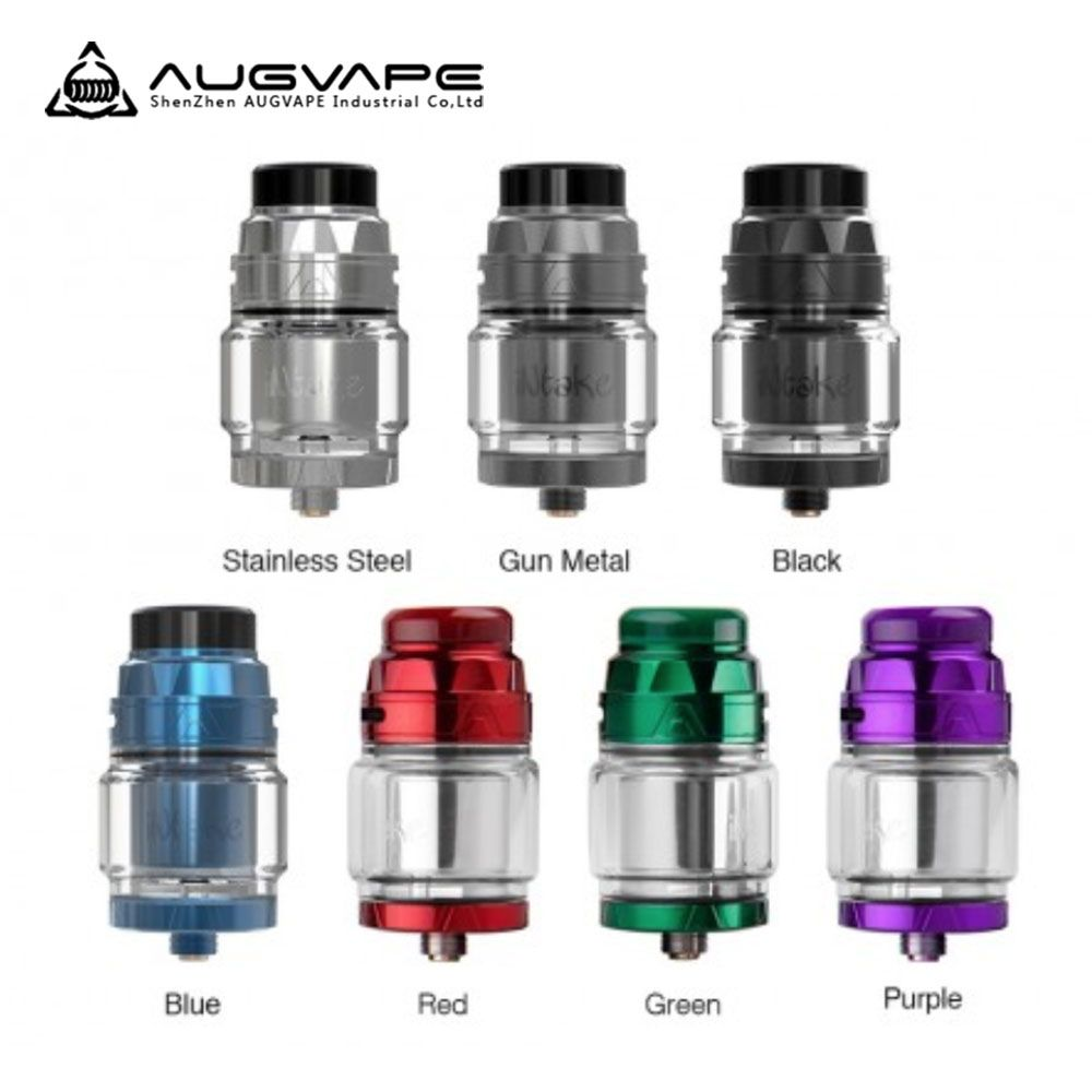 Augvape D'ADMISSION RTA Cigarette Électronique Atomiseur Fuite Preuve D'air En Bas Directe À Simple Bobinage Bobine 24mm 4.2 ml Atomiseur réservoir