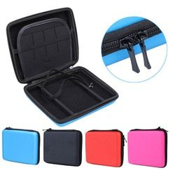 New Hard EVA Storage Zip Case Protective Holder for Nintendo 2DS Case Game Card Shell Cover Bag