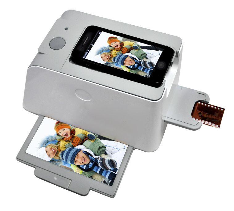 REDAMIGO Haute Qualité Portable Smartphone Photo Scanners Mobile téléphone Film Scanner Soutien iPhone 4/4S 5 5S SamsungS2 S3 EC719-1