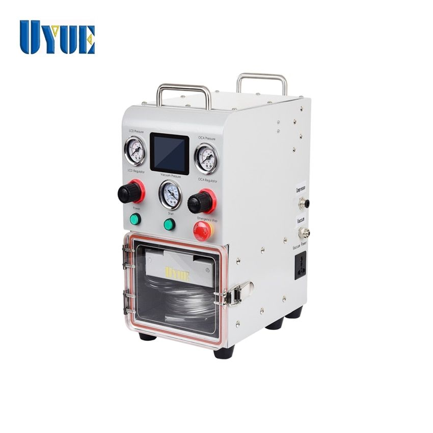 2019 neueste UYUE Mini X1 OCA Laminieren Maschine für Gerade Und Rand LCD Renovieren mit Basis EINE Form