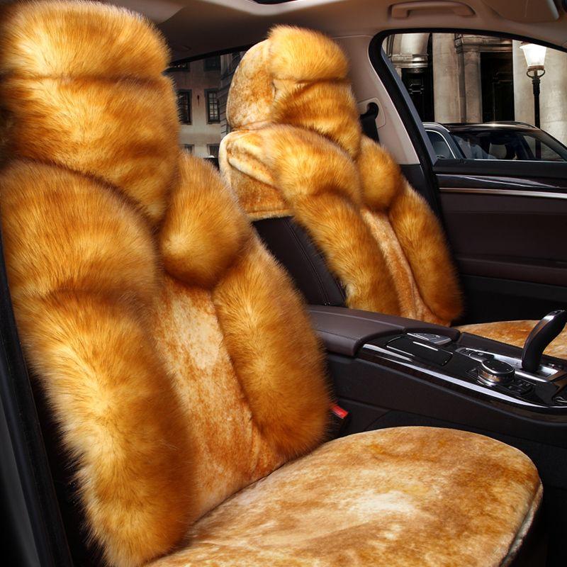 5D новая шерсть подушка все включено сиденья Крышка зима Автокресло, стайлинга автомобилей Чехлы для сидений мотоциклов для Toyota Форд ч седан