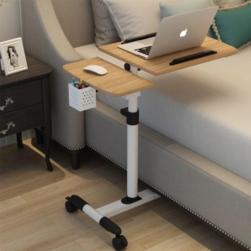 Pliable Table D'ordinateur Réglable ordinateur portable Bureau Rotation Ordinateur Portable Table de chevet Peut être Levé pupitre de travail 64*40 CM