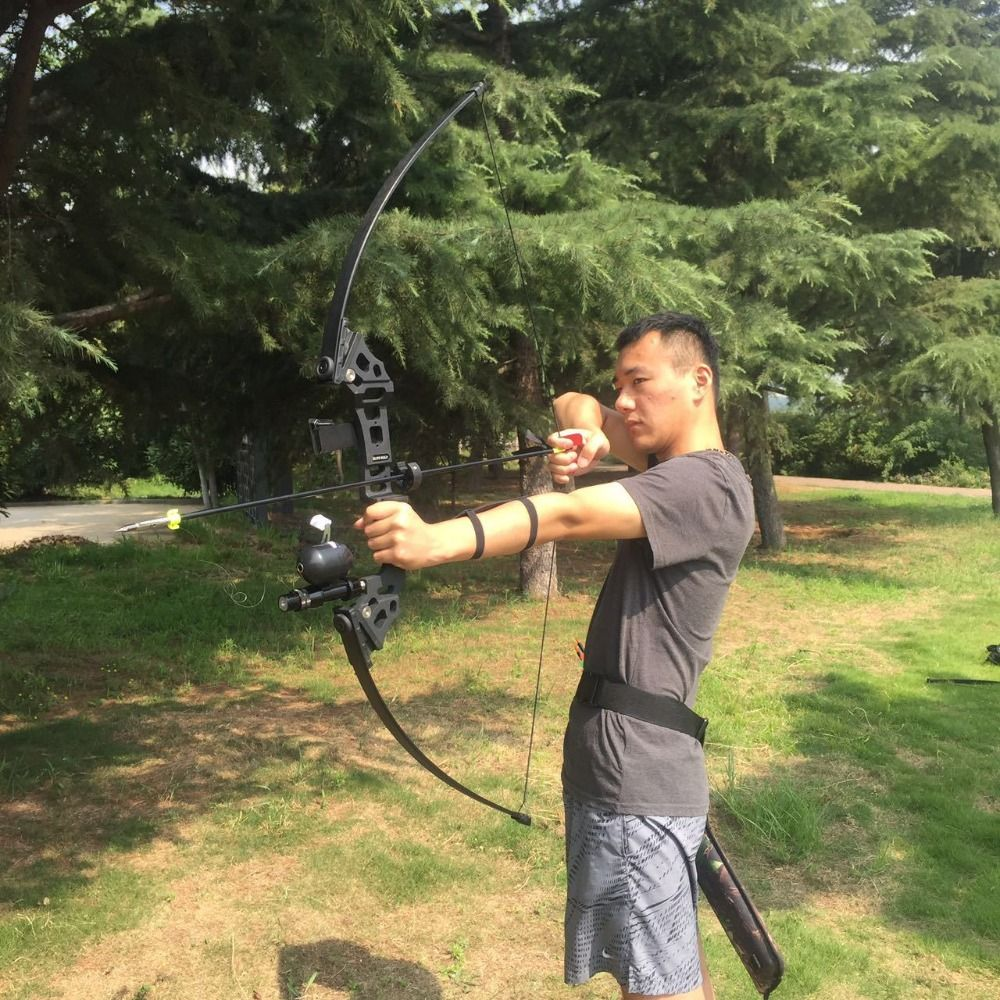 30/40 lbs Recurve Bow Outdoor American Hunting Bow for Archery Hunting Practice Shooting Fishing Accessories