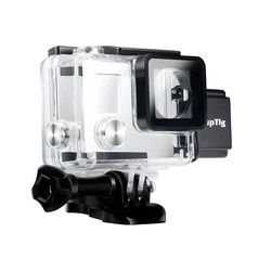 For GoPro Housing Rechargeable waterproof housing for GoPro Hero 4 Hero 3+ 3 Outside Sport Camera For Underwater Charge