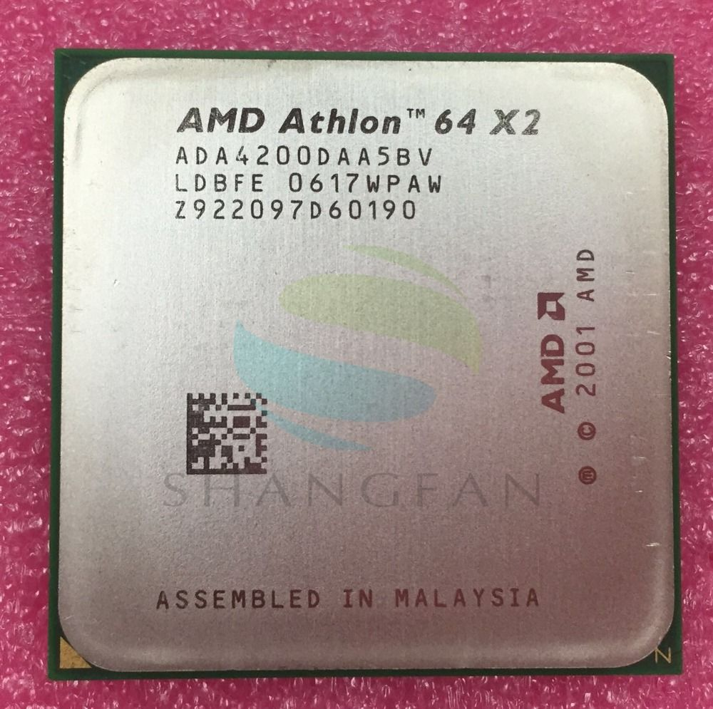 AMD Athlon X2 4200+ 2.2GHz Dual-Core CPU Processor X2 4200 ADA4200DAA5BV ADA4200DAA5CD 89W Socket 939pin Desktop CPU
