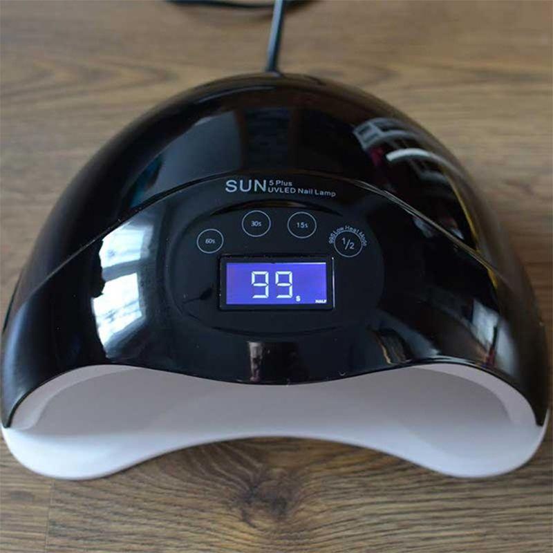 48W UV Lamp Nail Polish Dryer 28 LEDs Light 30S 60S 99S Drying Fingernail&Toenail Gel Curing Nail Art Dryer Manicure Machine