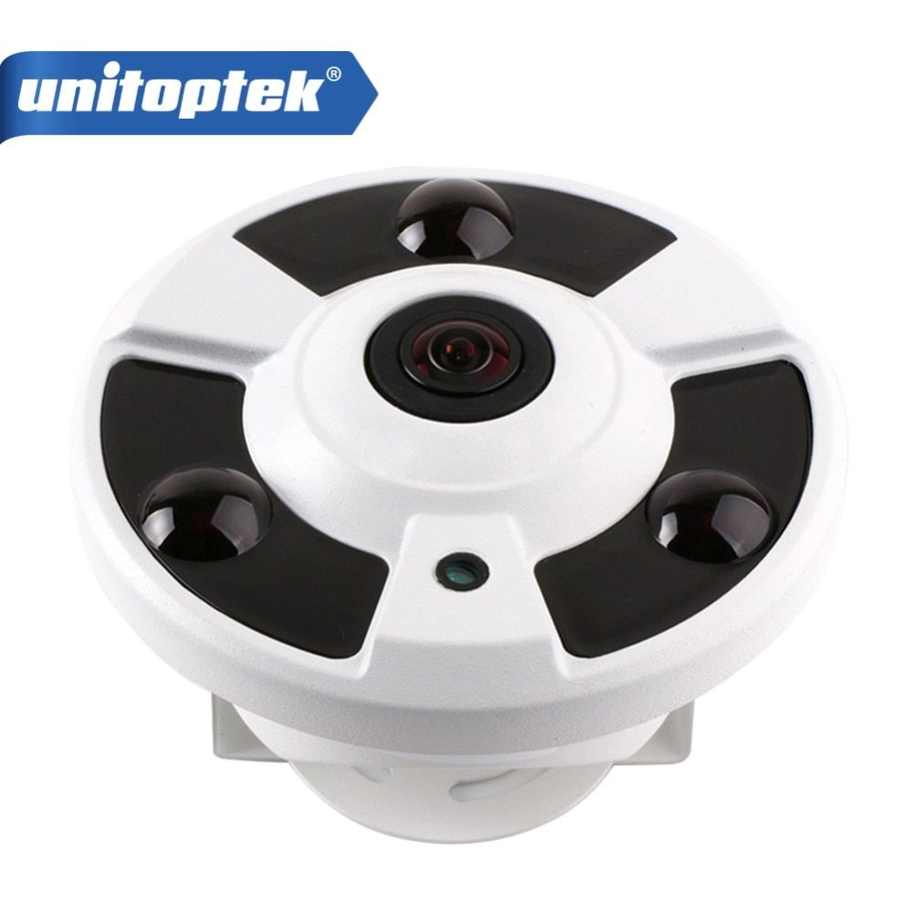 H.265 Panorama IP Camera POE 4MP / 3MP / 1080P 180/360 Degree Wide Angle CCTV Camera Night Vision Fisheye Security IP Camera