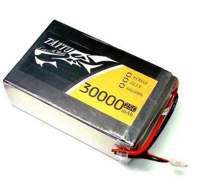 Battery 22.2v 30000mah 25c shaft battery ATTU