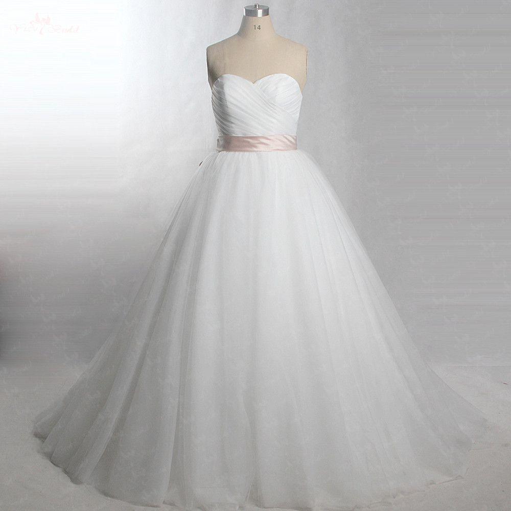 RSW440 Bridal Gown Cheap Elegant Ivory Wedding Dress