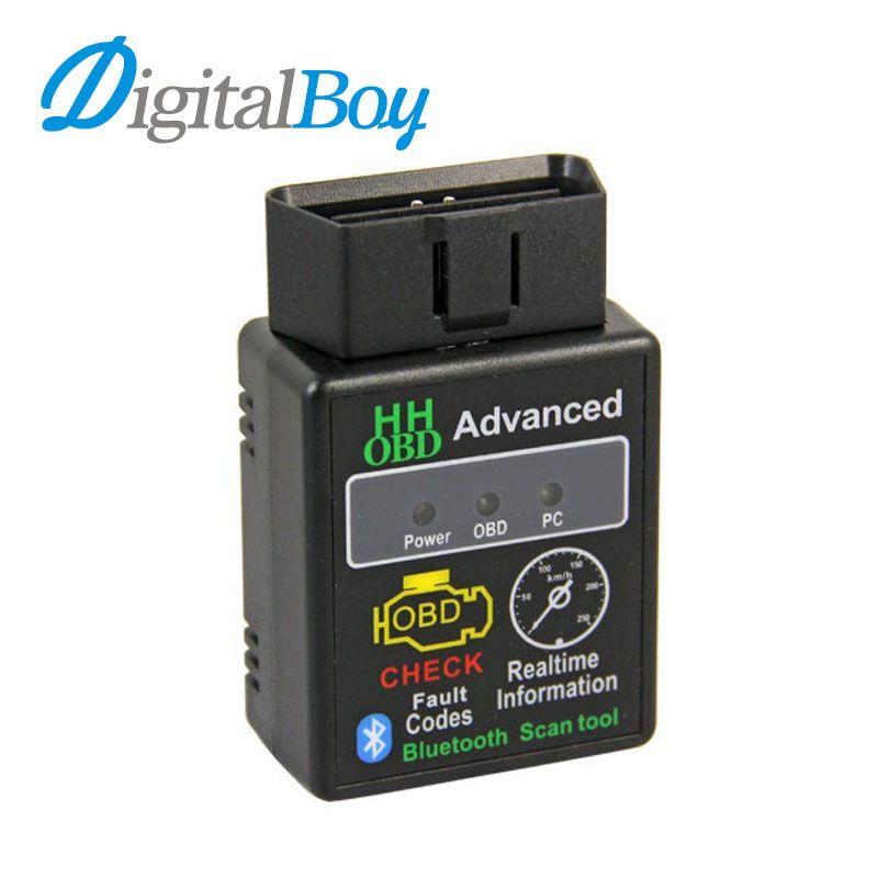 Auto Car ELM327 HH Android Bluetooth OBD 2 OBD II Diagnostic Scan Tool elm 327 Scanner V1.5 Code Reader Diagnostic Tool J1850