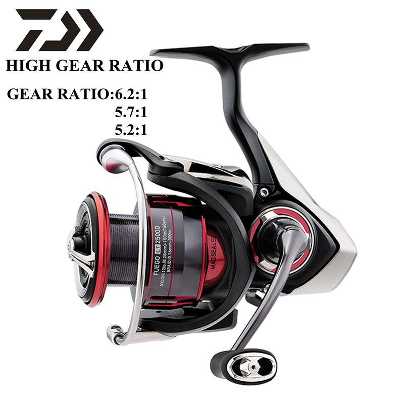 DAIWA FUEGO LT Original 1000D-XH 2000D 2500-XH 3000-CXH 4000D-CXH 5000D-CXH 6000D-H moulinet de pêche à haut rapport de vitesse