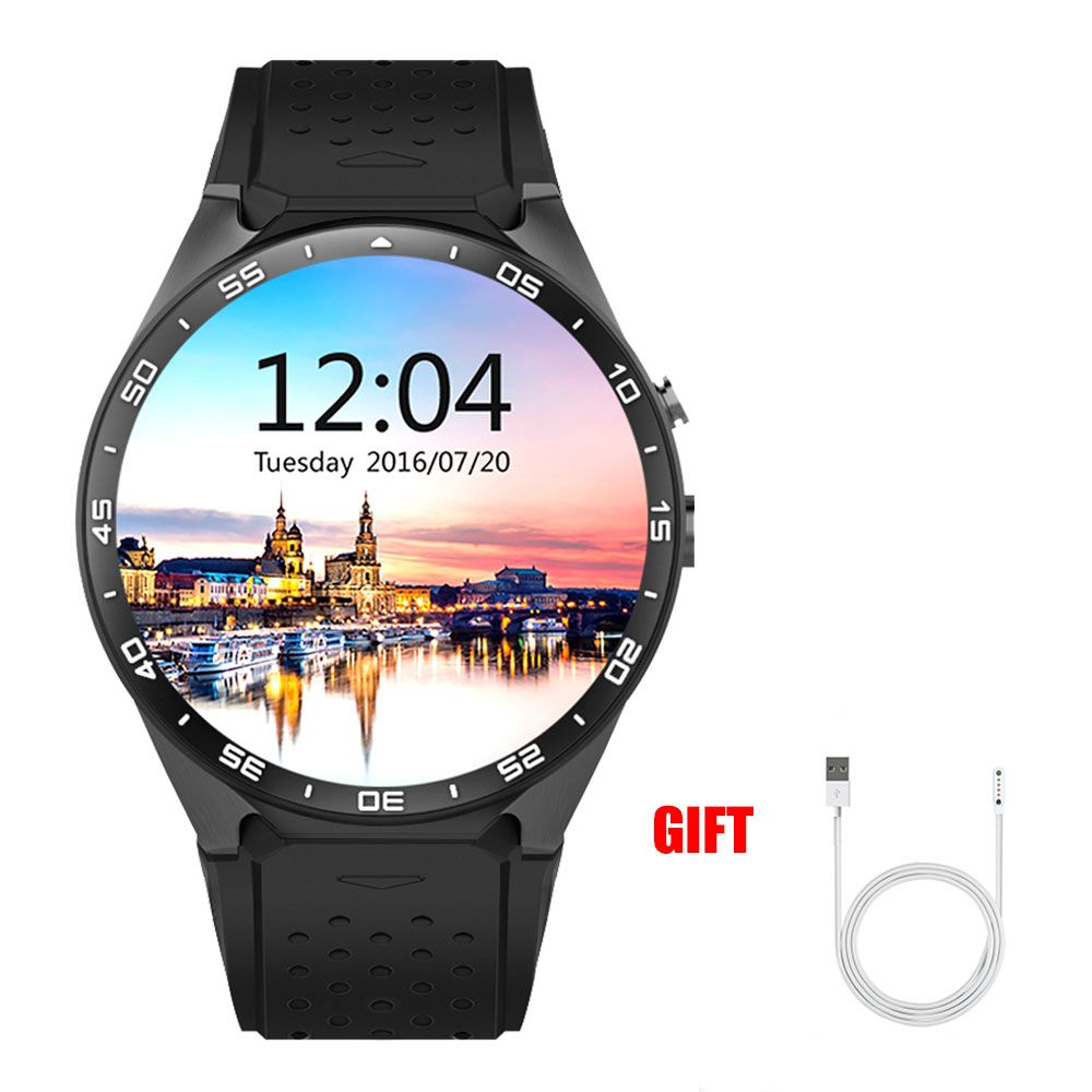 Kaimorui Smart Watch GPS Touch Screen with Pedometer Heart Rate Smartwatch Support SIM card for Android and IOS Smartwatches