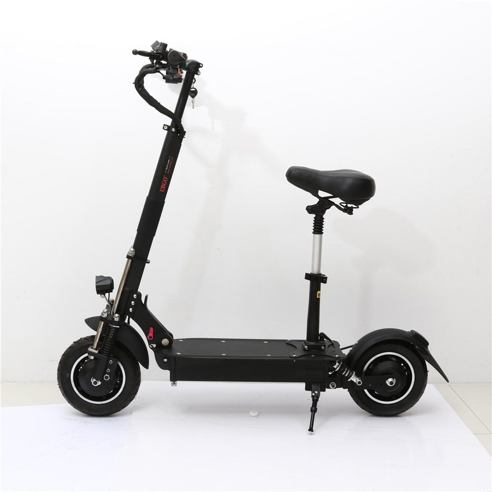 UBGO 1005 60V/ 52V Double Drive 2000W motor powerful electric scooter 10inch E-Scooter with oil brake