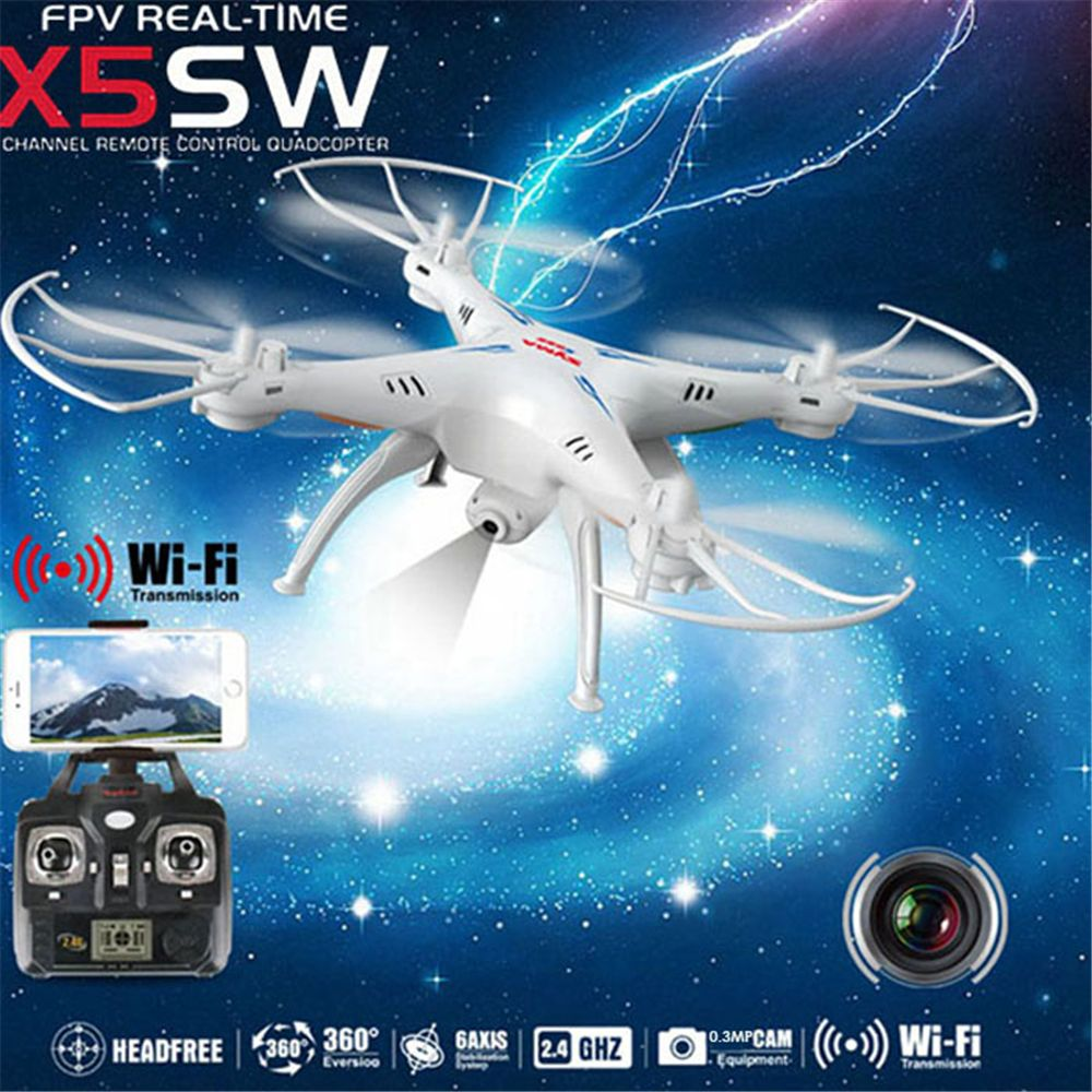 Original SYMA X5SW RC Drone With WiFi LCD Transmit FPV Helicopters Quadrocopter (X5C Upgrade) 0.3MP HD Camera Dron 4CH RC Toys